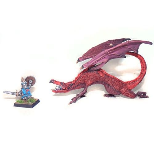 Gromfindor and the Brave Hero - Dragon and the Halfling Knight
