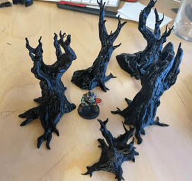 Haunted Forest - 3D Print