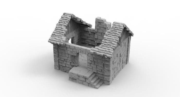 Small Cottage 3 - 3D Print