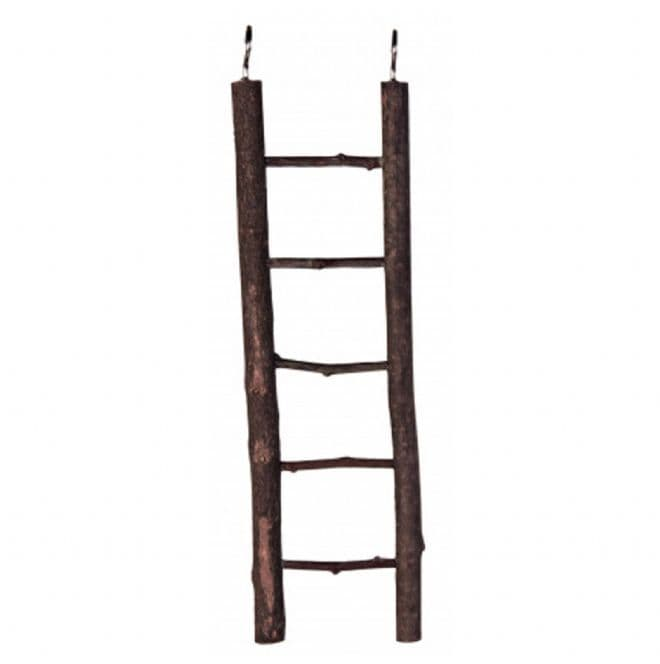 Dark Wooden Ladder - 5 Steps