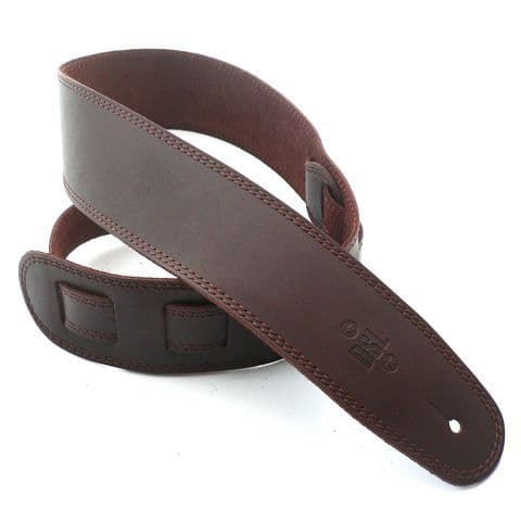 DSL 2.5 Inch Brown Leather Strap With Brown Stitch SGE25-17-2