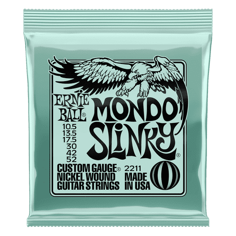 Ernie Ball Mondo Slinky 10.5-52 Electric Guitar Strings