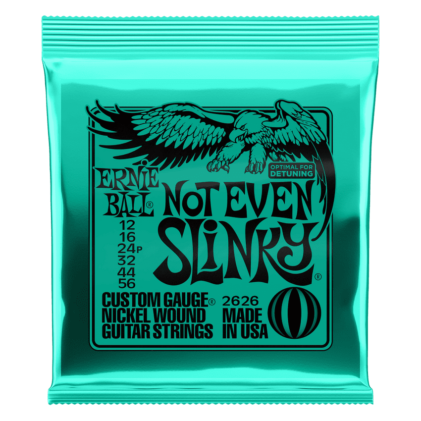 Ernie Ball Not Even Slinky 12-56 Electric Guitar Strings