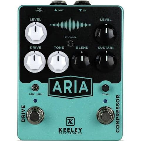 Keeley Electronics Aria Compressor/Overdrive