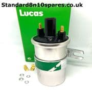 Standard 8 10 Pennant Lucas Ignition Coil - Push in lead