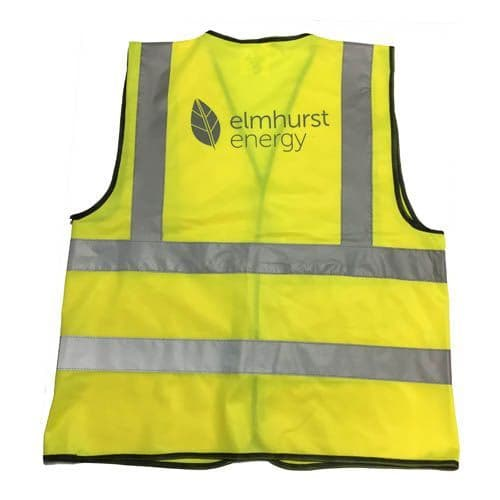 Elmhurst Branded  Hi-Vis Safety Vest