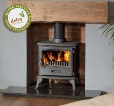 Tiger Cleanburn Defra Approved Woodburning Stove 5kW