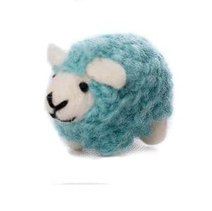 Mini Coloured Sheep Decorations - 4 pack