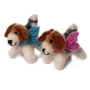 Mini Fox Terrier Toy - 3 Pack