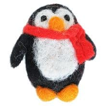 Small Penguin in Scarf