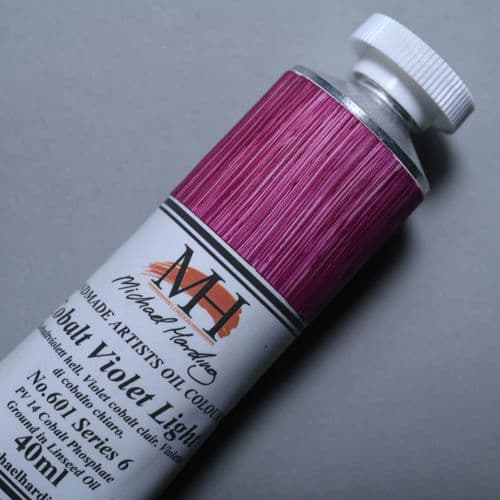 601 Cobalt Violet Light Michael Harding Oil Colour, 40ml tube