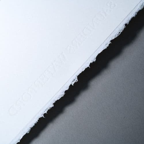 76 x 56cm 425gsm. Hot Pressed Saunders Waterford Watercolour Paper, Pack of 10 Sheets