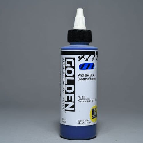 8537 Phthalo Blue (Green Shade), High Flow Acrylic, 118ml bottle