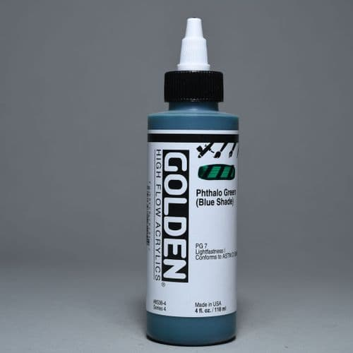 8538 Phthalo Green (Blue Shade), High Flow Acrylic, 118ml bottle
