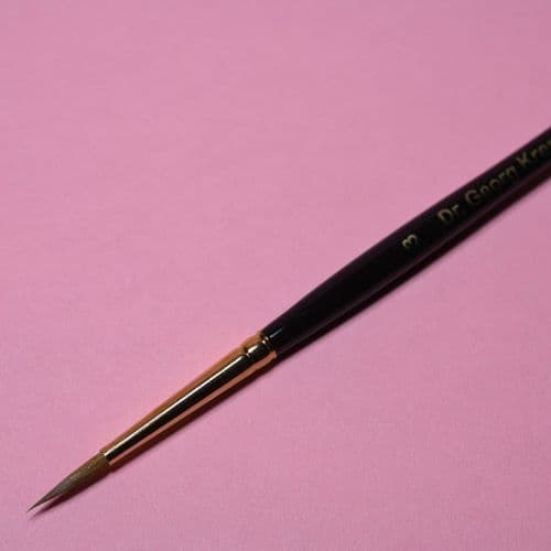 Kremer Size 4 Kolinsky Sable Watercolour Brush 85050040