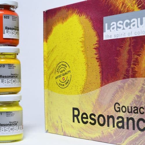 Lascaux Resonance Gouache set, 12 x 50ml Jar