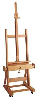 MABEF M/04 Studio Easel, Oiled Beech wood, Crank operated