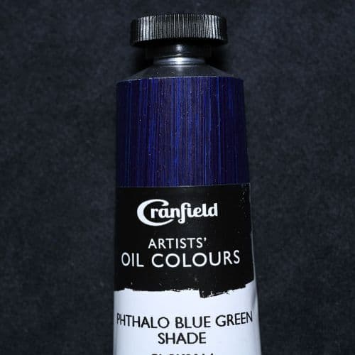 Phthalo Blue Green Shade  Cranfield Artists' Oil Colour, 40ml tube