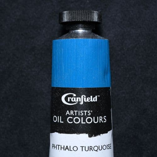 Phthalo Turquoise  Cranfield Artists' Oil Colour, 40ml tube