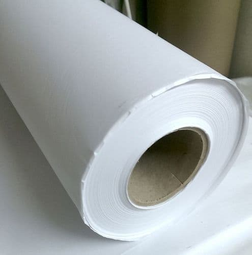 "Plain Plotter Paper, 50gsm, 60"" wide, 300m roll - collection from the shop only"