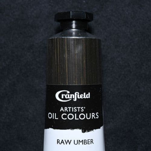 Raw Umber  Cranfield Artists' Oil Colour, 40ml tube