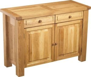 Charltons Bretagne Solid Oak 2 Door Sideboard