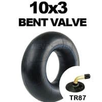 10x3 Inner Tube Bent Valve for Sack Trucks, Garden Carts, Mobility Scooters & Trolleys 10 x 3