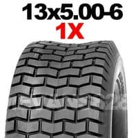 13x5.00-6 MOWER TYRE FOR RIDE ON LAWN MOWERS