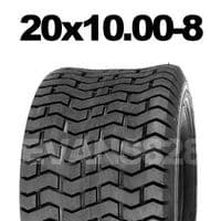 20x10.00-8 MOWER TYRE FOR RIDE ON LAWN MOWERS