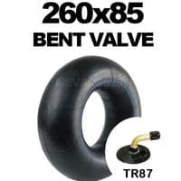 260x85 Inner Tube Bent Valve, Sack Trucks, Garden Carts, Mobility Scooters, 260 x 85