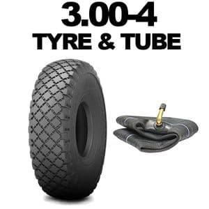 3.00-4 Tyre, 3.00 x 4 Sack Truck Tyres 300x4 Tyre Trolley Mobility Cart Tyre