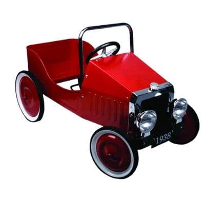 Children's Classic Red Pedal Car - Great Gizmos