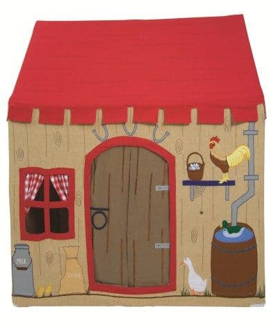 Children's Girls and Boys Small Win Green Barn Playhouse