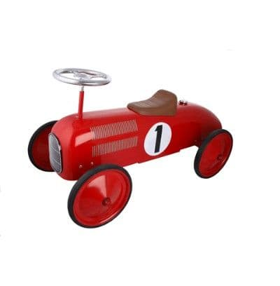 Children's Ride On Classic Red Racer - Great Gizmos