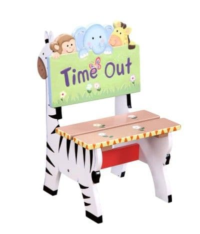Children's Teamson Sunny Safari Time Out Chair