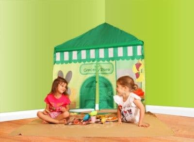 Cozy Corner Shop Super Market Stall Play Tent Panel Den