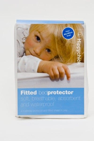 Hippychick Fitted Mattress Protector - Single