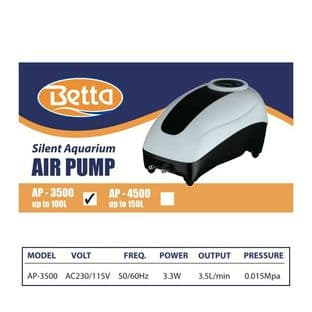Betta AP-3500 Aquarium Air Pump