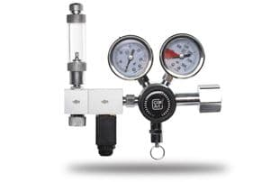 CO2 Art Pro Elite Dual Stage Regulator with Solenoid