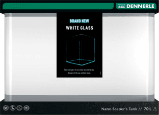 Dennerle Scapers White Glass 70L