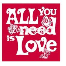 All You Need Trivet Red