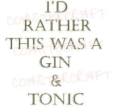 I Wish This was a Gin & Tonic