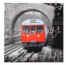 London Tube train TRIVET
