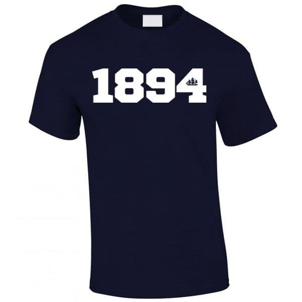 1894 Ship Navy T-shirt