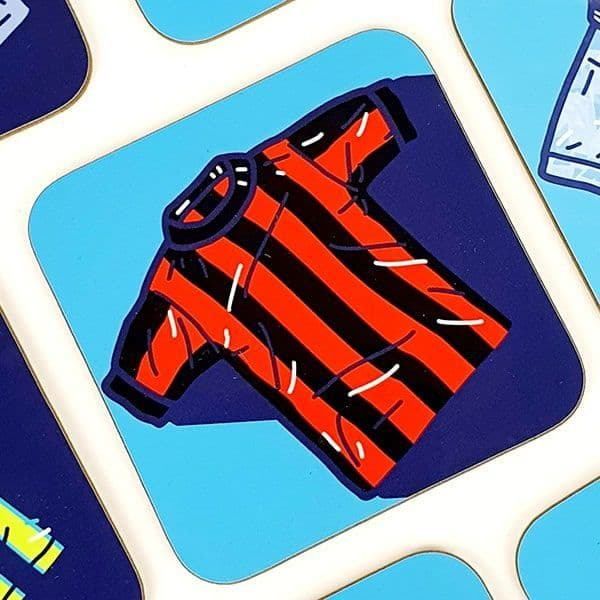 1969 Away Kit Coaster