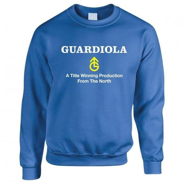 A Title Winning Production From the North Sweatshirt | Manchester City Gifts & Memorabilia