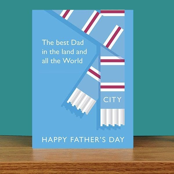 Best Dad in the Land Father's Day Card