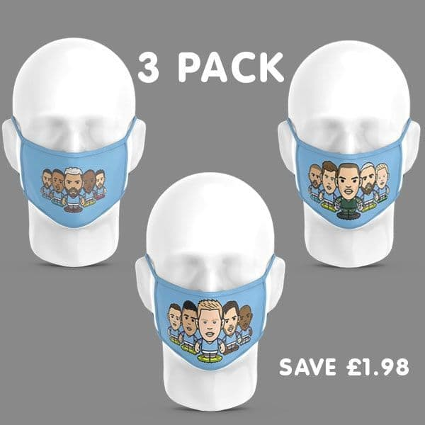 Children - 3 Pack Players Face Coverings