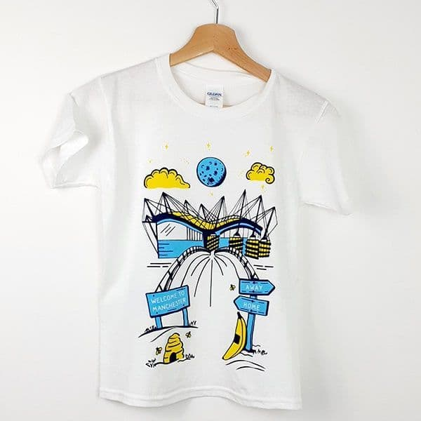 Children's T-shirt Our Home | Manchester City Gifts & Memorabilia