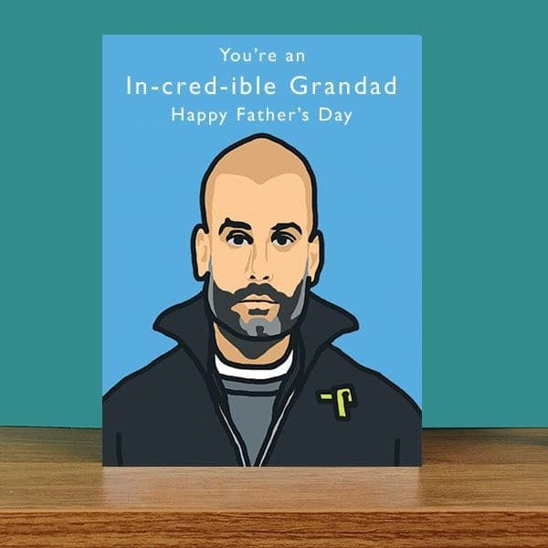 In-cred-ible Grandad Father's Day Card